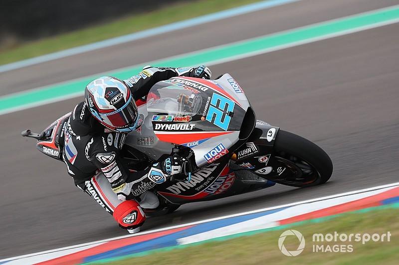 FP1 Moto2 Amerika: Schrotter di puncak, Dimas terjatuh
