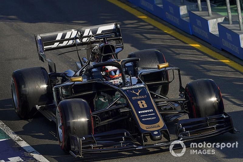 """Steiner spiega il ritiro di Grosjean: """"Si è rotto il dado ruota durante la sosta"""""""