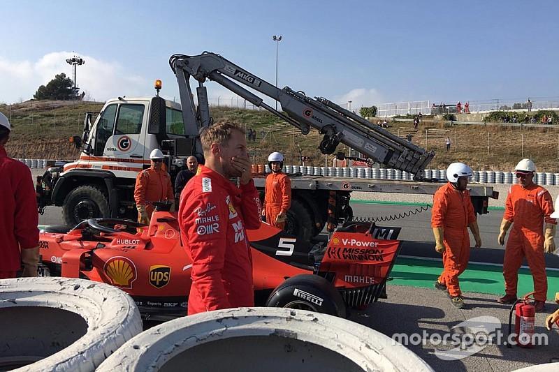 Elektronikai hiba miatt rövidebbre sikerült a Ferrari tesztnapja