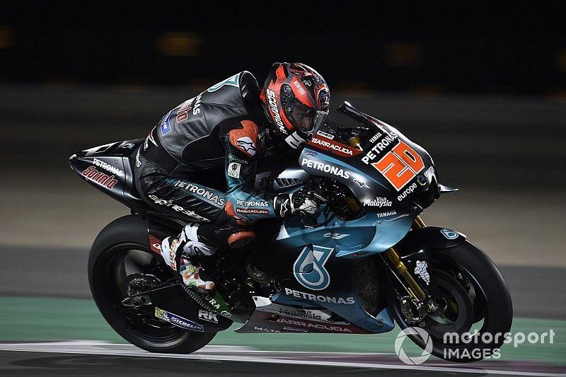 Quartararo no se conforma con puntuar en su debut en MotoGP
