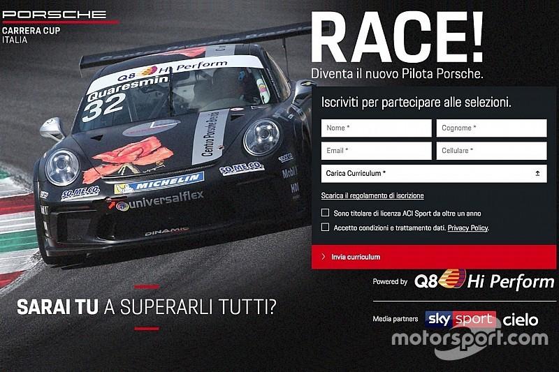 Carrera Cup Italia: nel 2019 dirette Sky e l'opportunità di diventare pilota Q8 Hi Perform nel 2020!