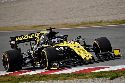 Риккардо осторожно оценил шансы Renault стать лучшей из середняков
