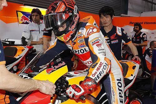 Kondisi fisik membaik, Marquez harus kerja keras