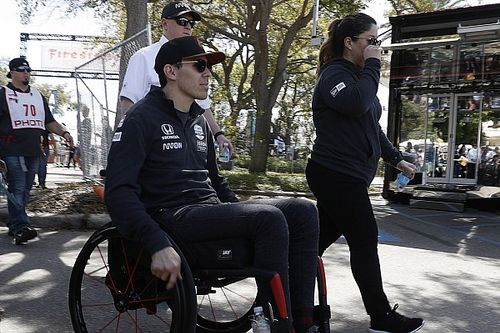 """""""I'm so lucky,"""" says Wickens as he thanks fans for support"""