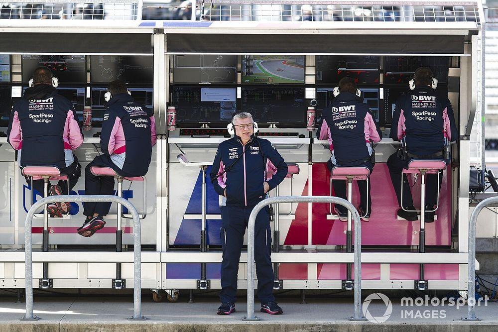 Racing Point gaat verder met Valkyrie-project van Aston Martin