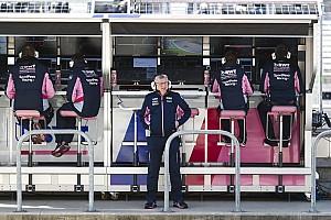 ريسينغ بوينت: سنحتاج للمزيد من الوقت لتحقيق مكاسب كبيرة في الفورمولا واحد
