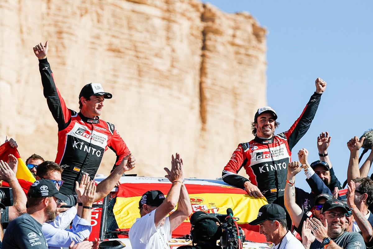 """Ickx """"certain qu'Alonso a le talent pour gagner"""" le Dakar"""