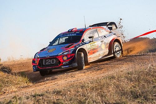Catalunya WRC: Loeb leads Hyundai 1-2-3