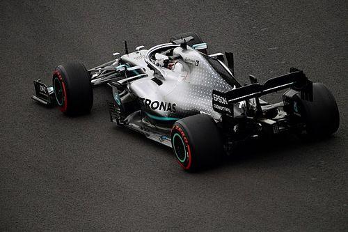 """Hamilton, con """"inútiles"""" neumáticos, pronostica ¡4 paradas en México!"""