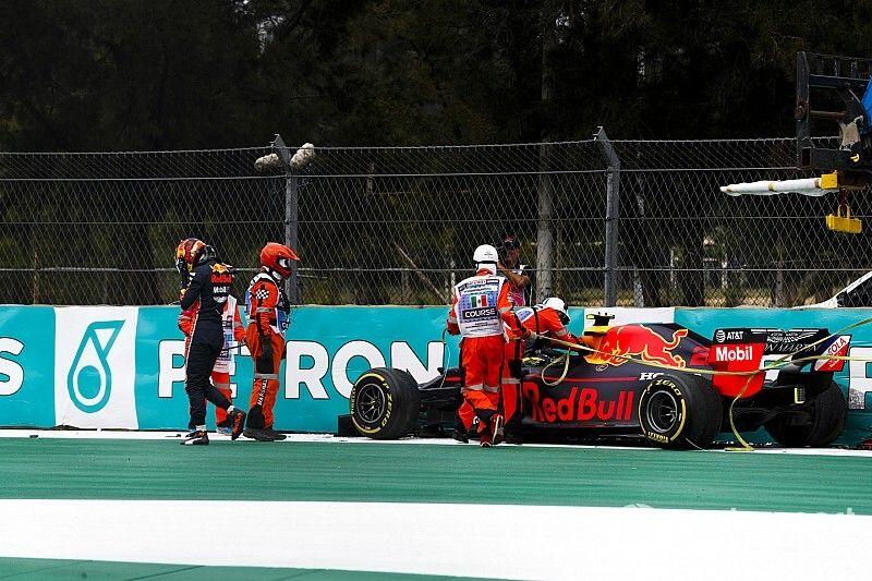 "Albon says FP2 crash a ""frustrating mistake"""