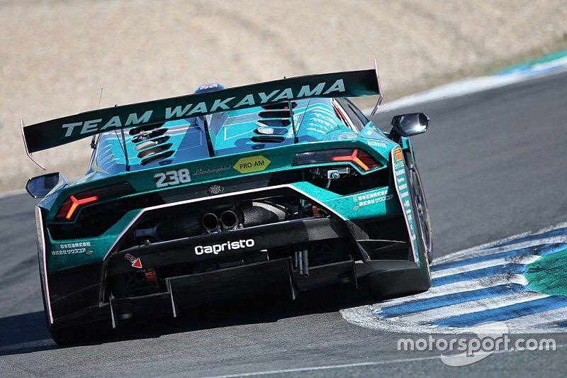 Lamborghini, PRO+PRO AM: Schandorff e Spinelli volano in pole