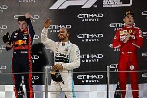 Abu Dhabi GP: Hamilton cruises to crushing victory
