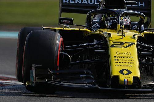 Renault, kendileriyle son yarışa çıkan Hulkenberg'i övdü