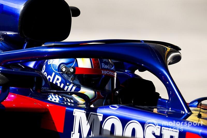 Így reagált a Toro Rosso a garázsban Gasly befutójára Brazíliában: videó