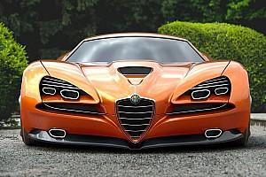 Alfa Romeo Montreal Vision GT, un sueño futurista