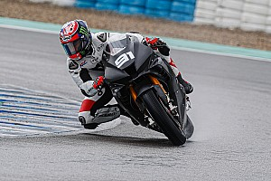 Haslam tops first day of WSBK test on new Honda