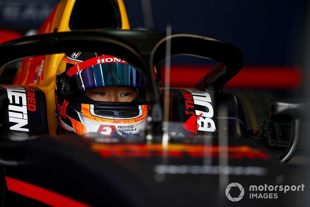 Monza F2: Tsunoda leads Lundgaard in practice