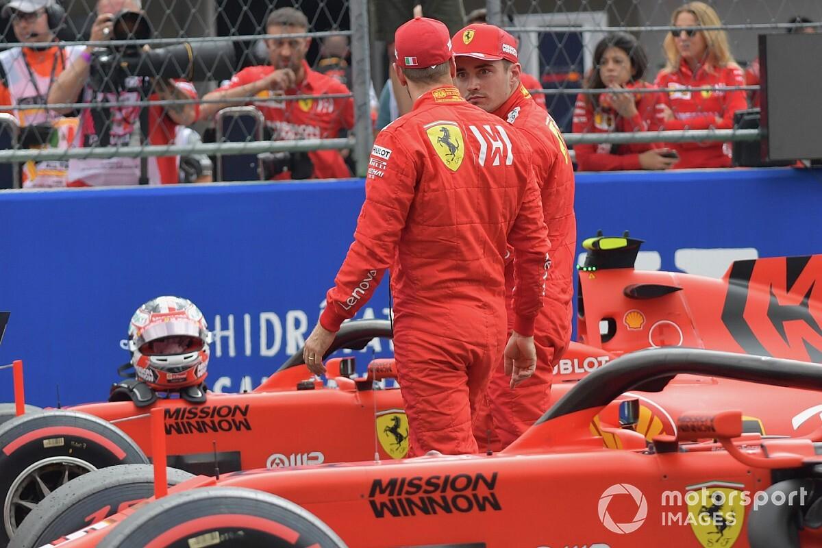 Вильнев назвал обоих пилотов Ferrari виновными в аварии