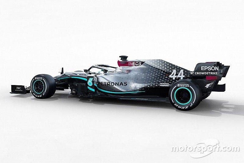 Photos - La Mercedes W11 sous tous les angles