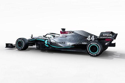 ¿Qué hay tras los extremos pontones del Mercedes 2020?