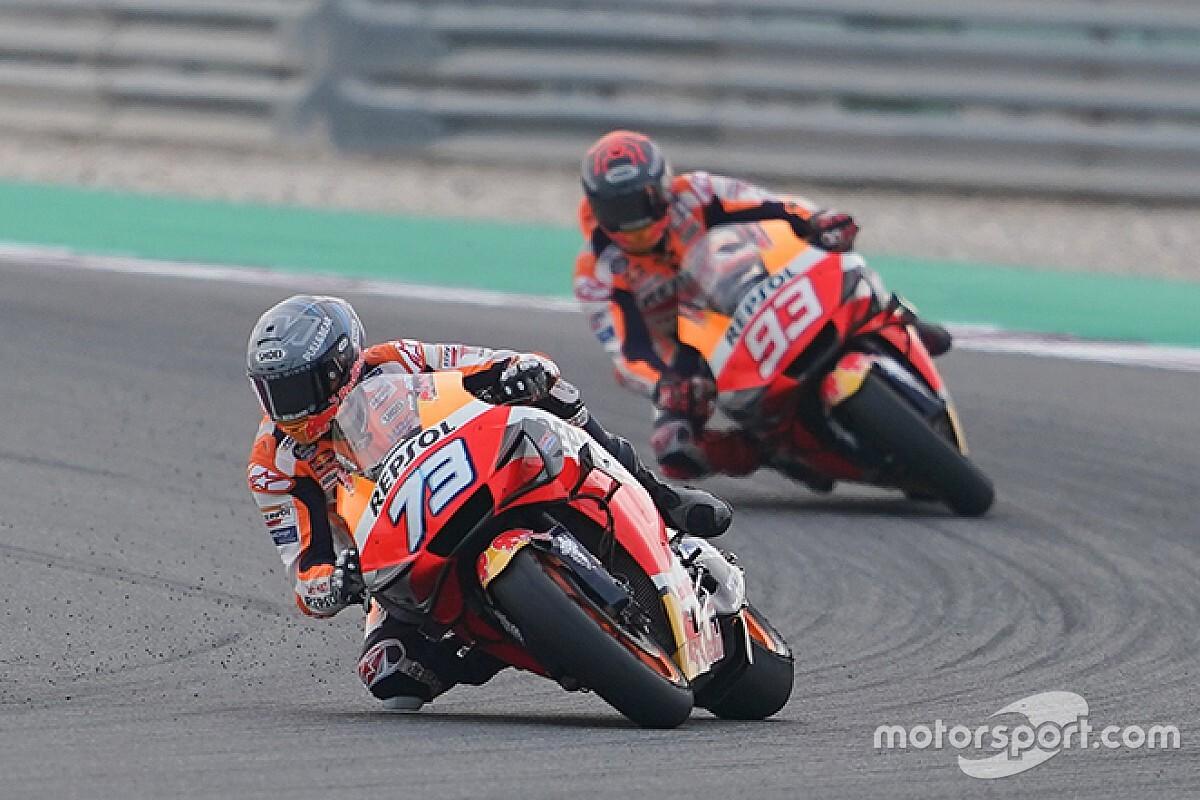 MotoGP Virtuale, Misano: Alex Marquez beffa Marc, Rossi terzo
