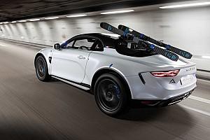Alpine A110 SportX: un prototipo con aire SUV, para ir a esquiar