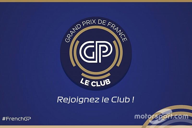 Devenez Membre du Grand Prix de France - Le Club