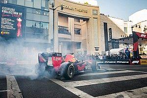 GALERÍA: Donuts de F1 en el Hollywood boulevard