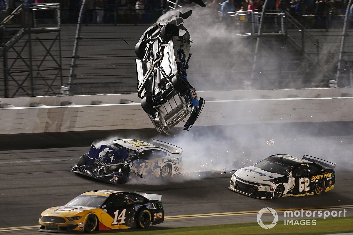 "Kyle Busch on driver safety: ""We're not invincible"""