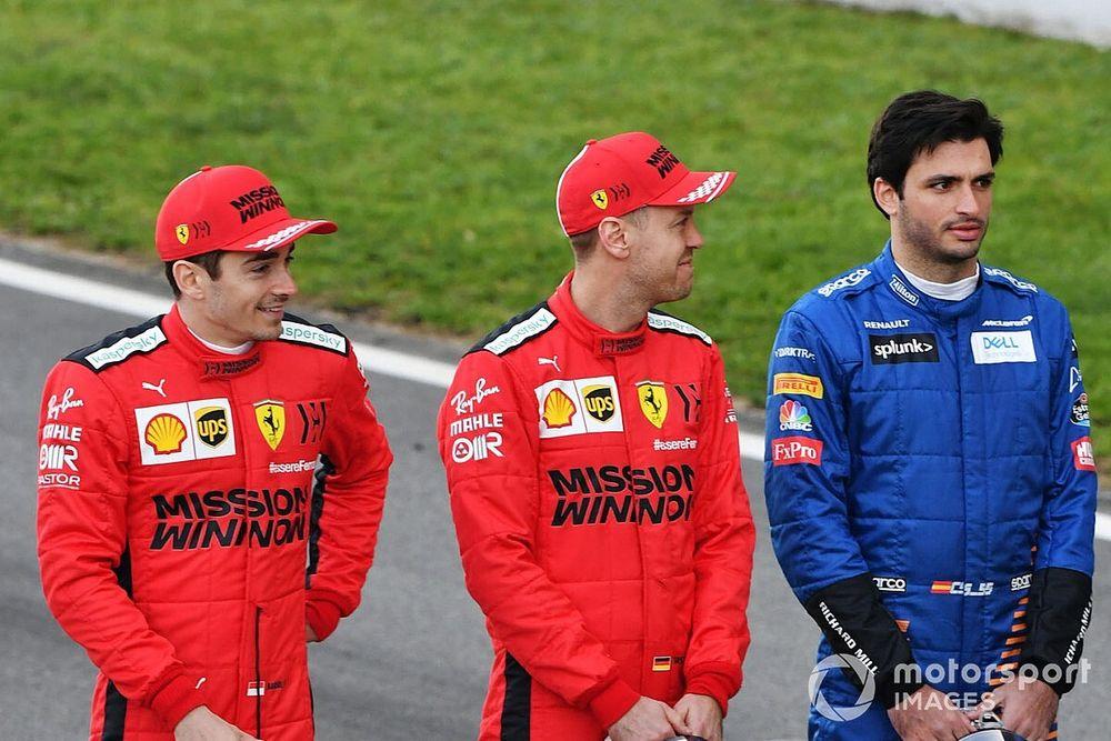 Verstappen ve más a Sainz que a Ricciardo en Ferrari