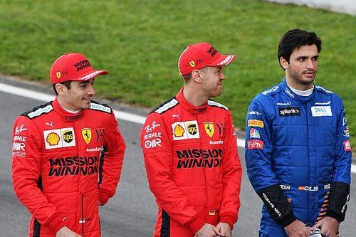 """Sainz sobre Leclerc: """"Sempre quis os companheiros mais fortes"""""""