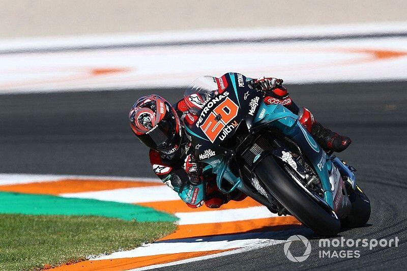 Valencia testi 1. gün: Quartararo lider, Yamaha 1-2-3