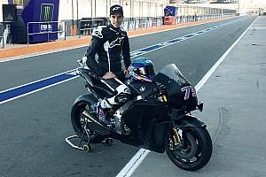 Alex Márquez se monta en la Honda del equipo HRC