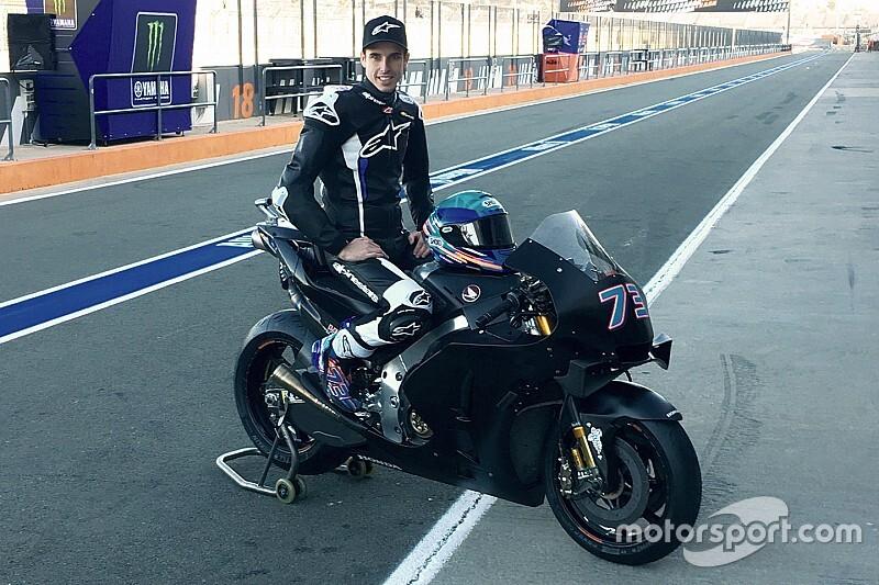 Alex Marquez impaziente: eccolo già in sella alla Honda!