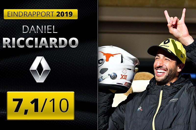 Eindrapport Daniel Ricciardo: Wennen aan de nieuwe realiteit