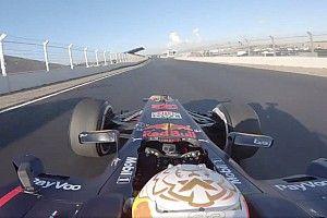 Videó: Verstappen első köre Zandvoortban (onboard)