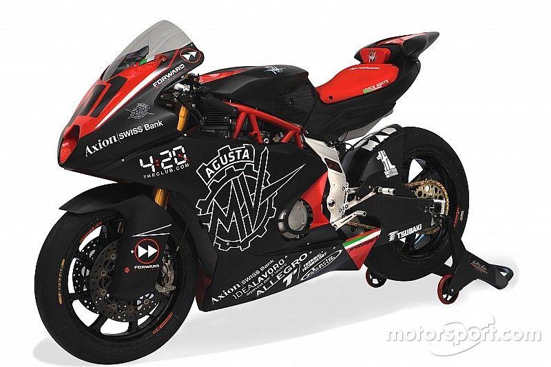 MV Agusta revela el aspecto que tendrá su Moto2 en 2019
