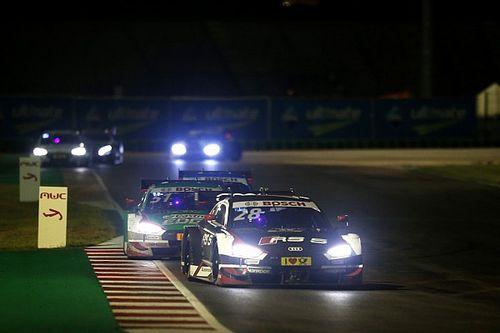 DTM Misano: Duval pakt eerste pole in natte kwalificatie