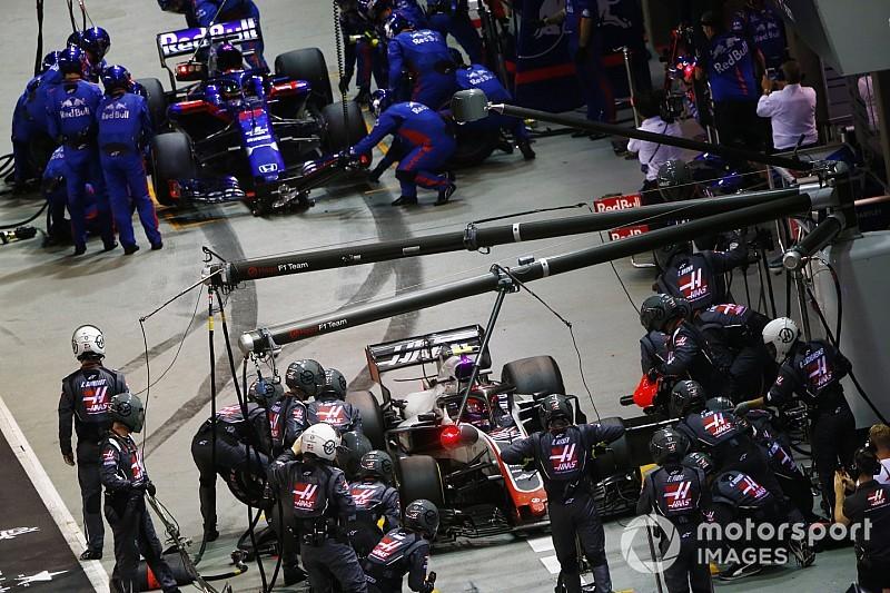 Nulla pont a Toro Rosso-Hondától a Szingapúri Nagydíjon