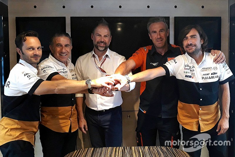 Officiel - Le team Ángel Nieto revient en Moto2 avec KTM en 2019