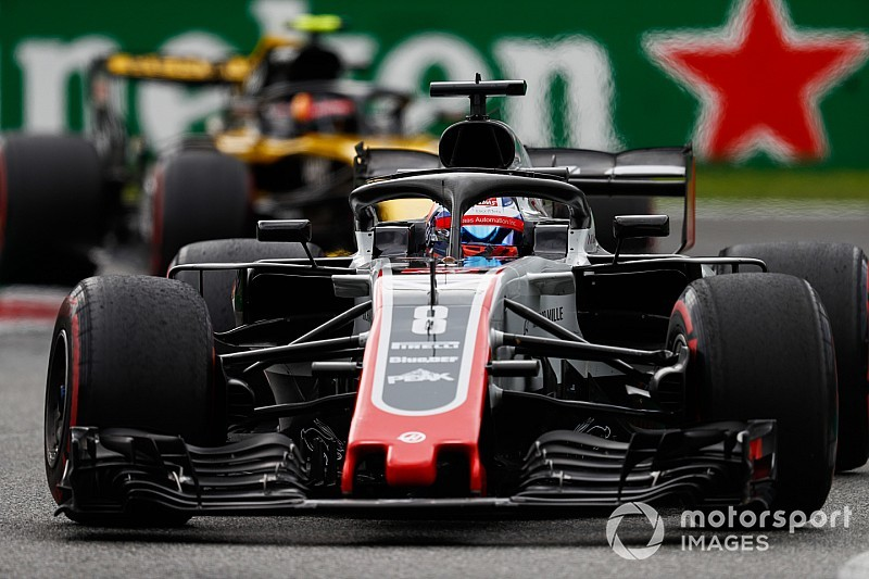 Grosjean facing exclusion after technical infringement