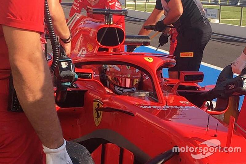 Leclerc, Ferrari'nin 2018 aracıyla ilk testini tamamladı!
