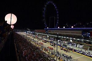 Weersverwachting voor de Grand Prix van Singapore