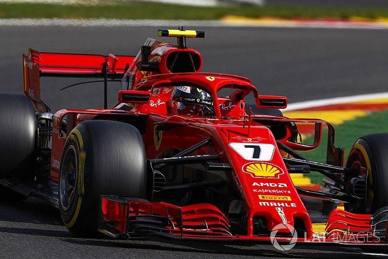 Belgian GP: Raikkonen outpaces Hamilton in FP2