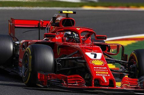 比利时大奖赛FP2:莱科宁跃居首位,汉密尔顿紧随其后