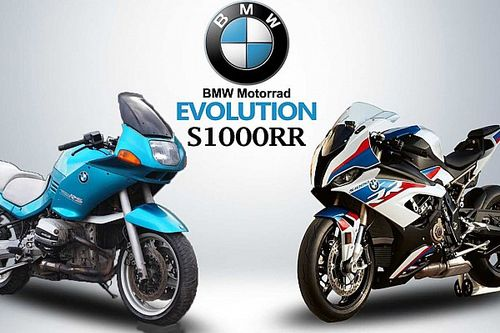 Watch How The BMW S1000RR Evolved Over Time