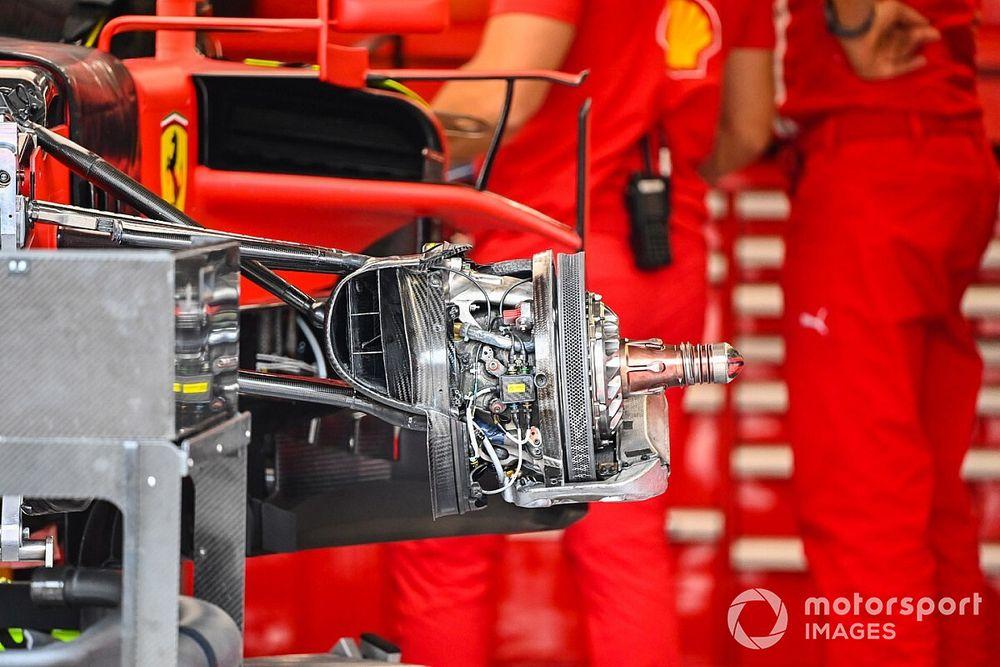 Formel-1-Technik: Detailfotos beim GP Ungarn 2020 bei Budapest