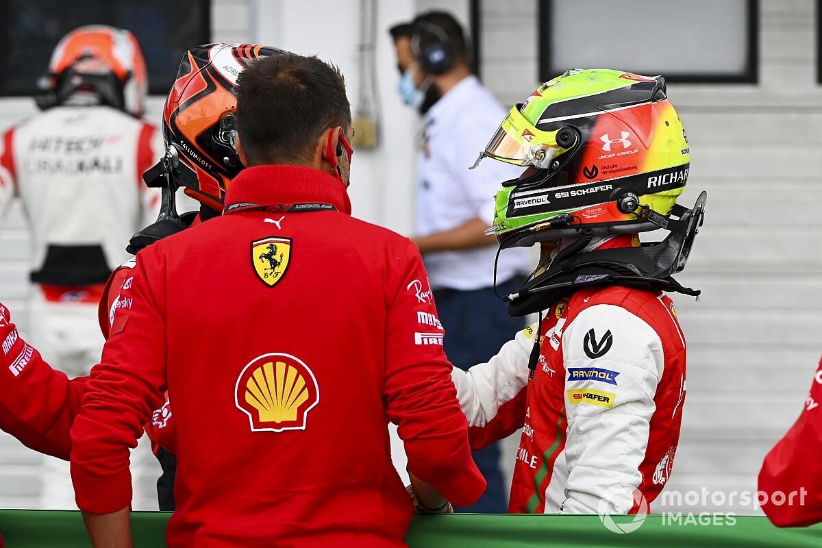 A Ferrari reagált Mick Schumacher teljesítményére és F1-es esélyeire
