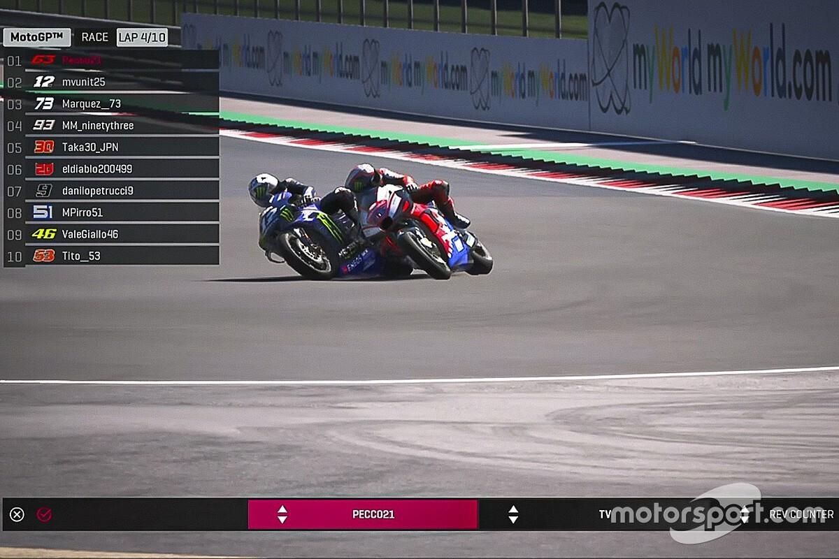 MotoGP сделает виртуальные Гран При официальным чемпионатом