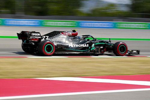 Боттас положился на Mercedes при выборе шин – и упустил второе место. А Хэмилтон все сделал по-своему